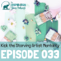 Artwork for 033: Kick the Starving Artist Mentality with Money Mindset Mentor Denise Duffield-Thomas
