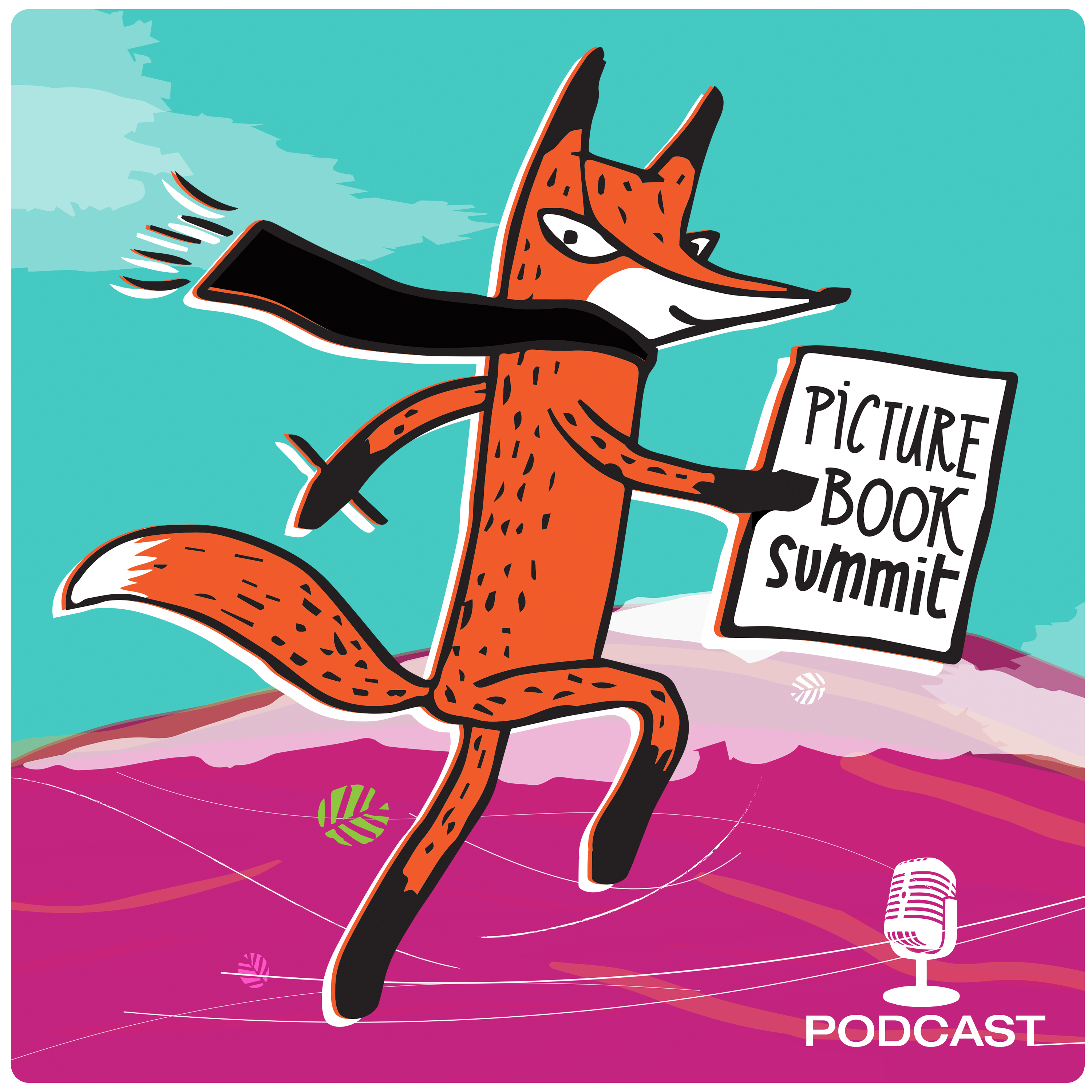 Picture Book Summit Podcast show art