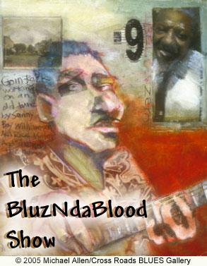 Artwork for The BluzNdaBlood Show #205, New Blues For A New Year!