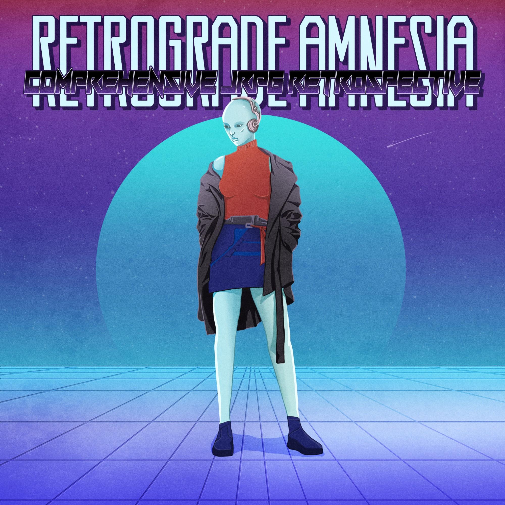Retrograde Amnesia JRPG Podcast Cover