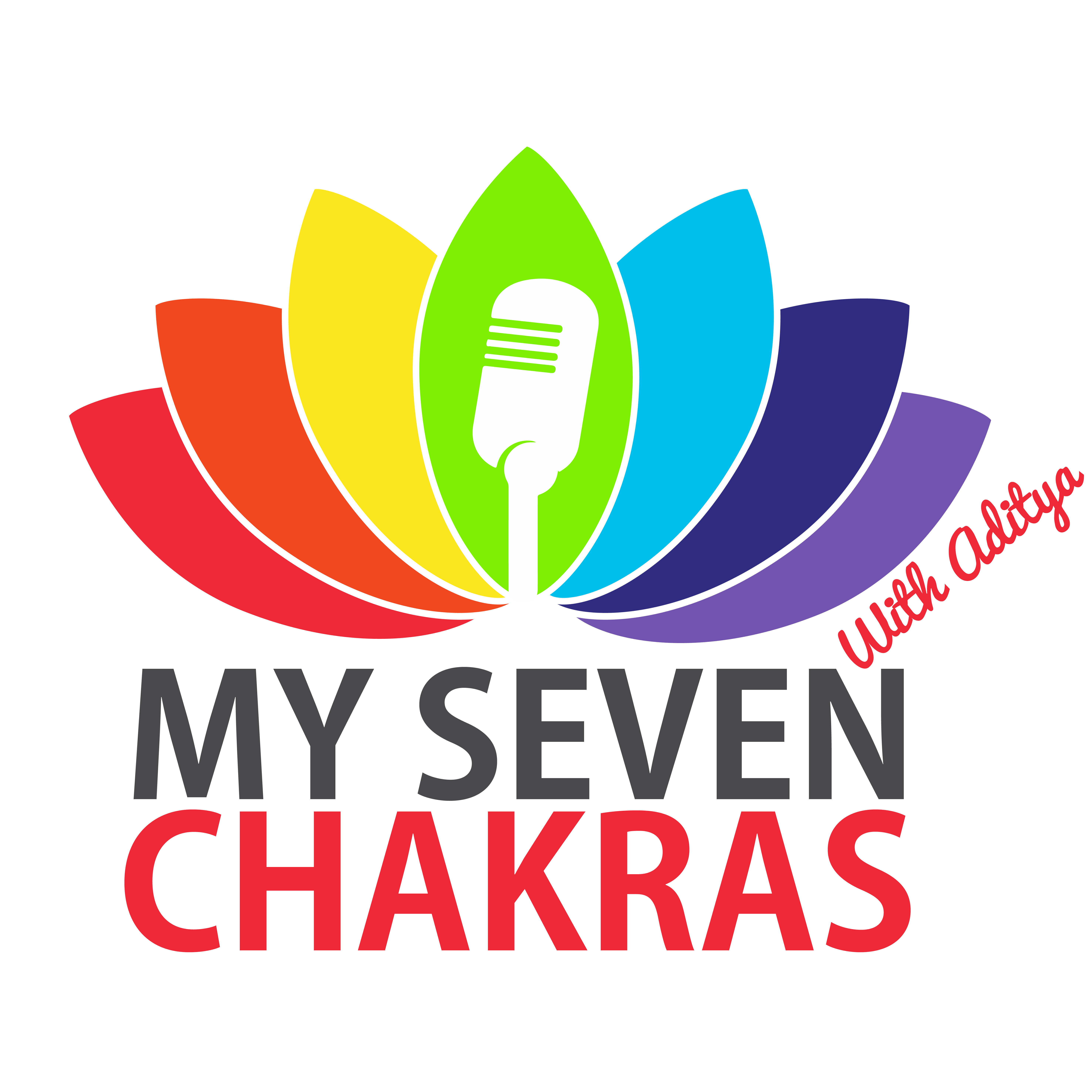 My Seven Chakras With AJ show art