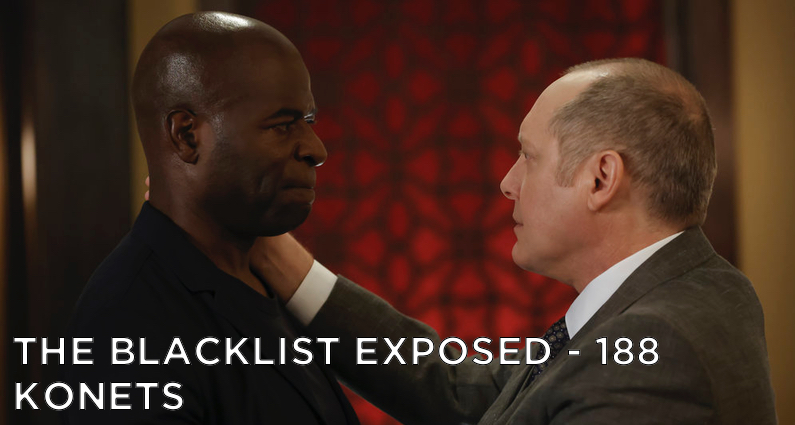 Red and Dembe say goodbye.