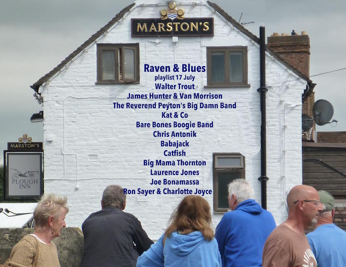 Raven and Blues 15 July 2016