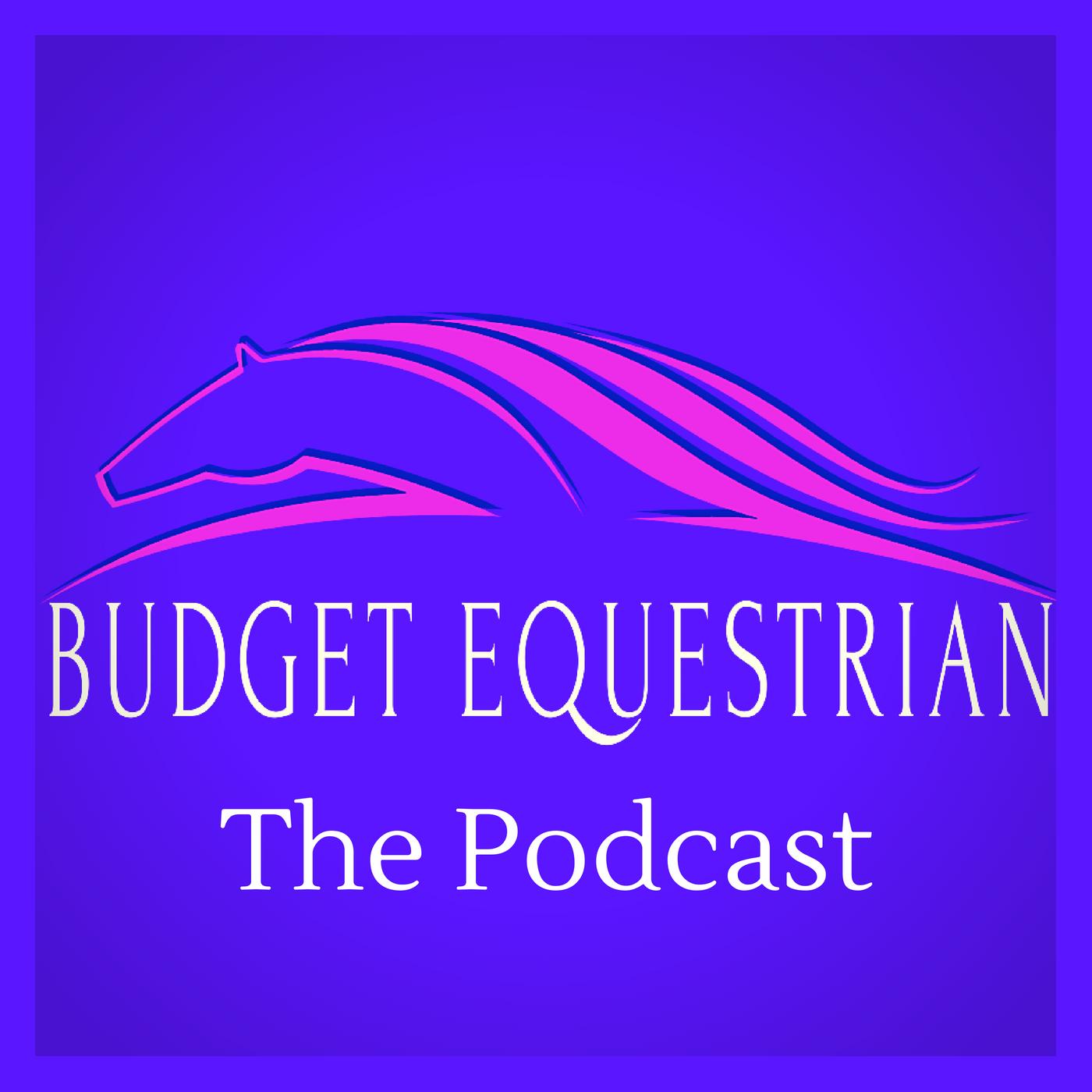 budgetequestrian's podcast show art