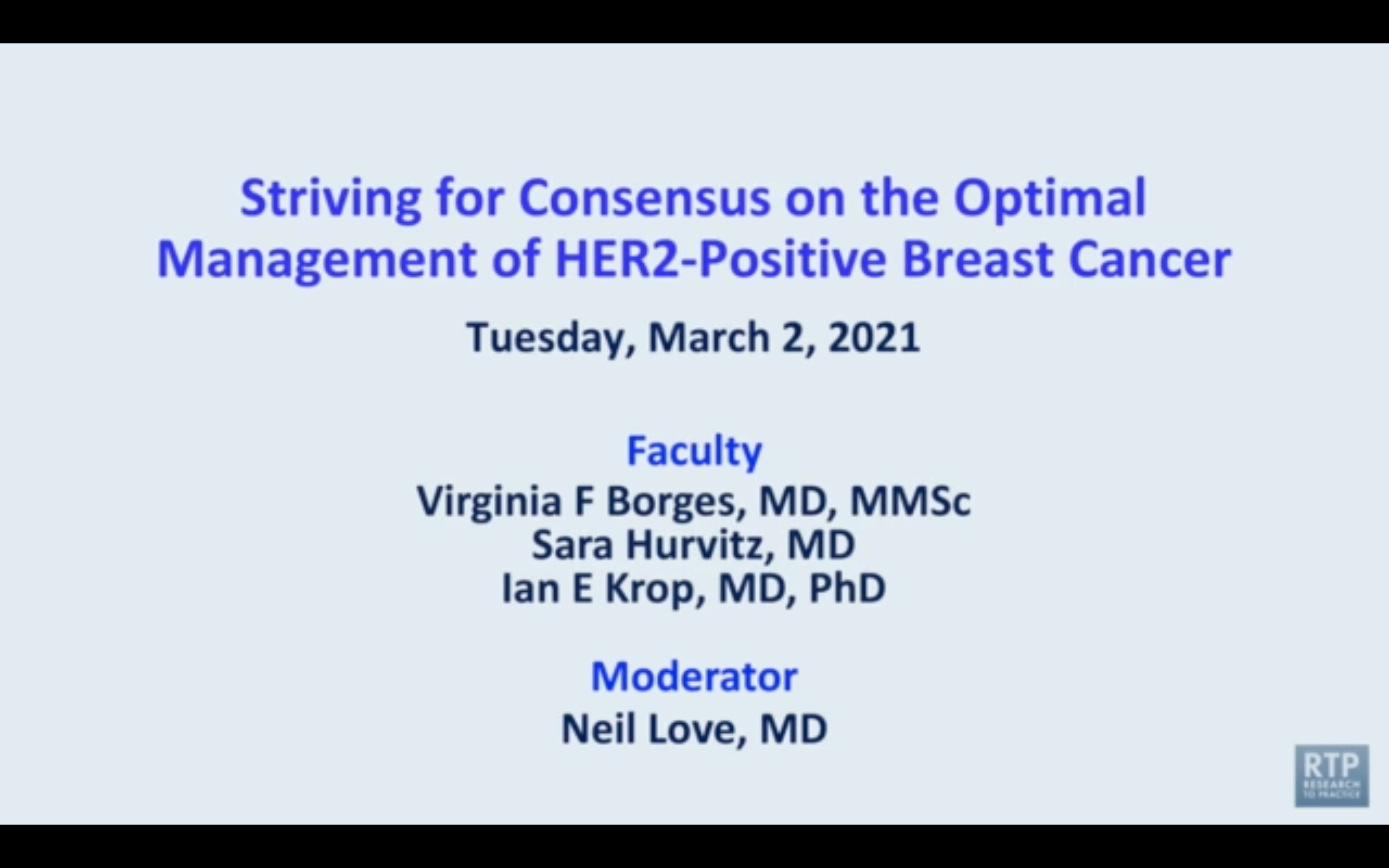 Artwork for HER2-Positive Breast Cancer | Striving for Consensus on the Optimal Management of HER2-Positive Breast Cancer