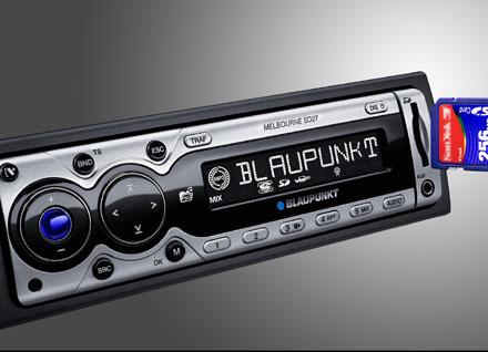 Blaupunkt presenta un sintonizador de radio con lector para tarjetas SD
