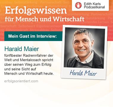 Im Gespräch mit Harald Maier
