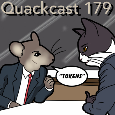 Episode 179 - Token representation in comics