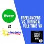 Artwork for E94 Freelancers vs. Hiring a Full-time VA