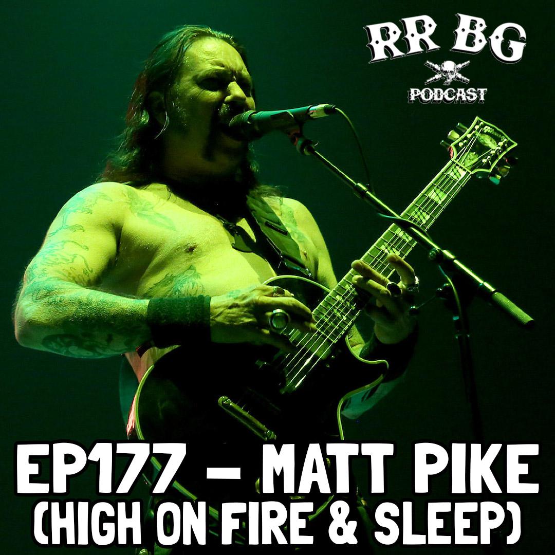 Artwork for EP177 - Matt Pike