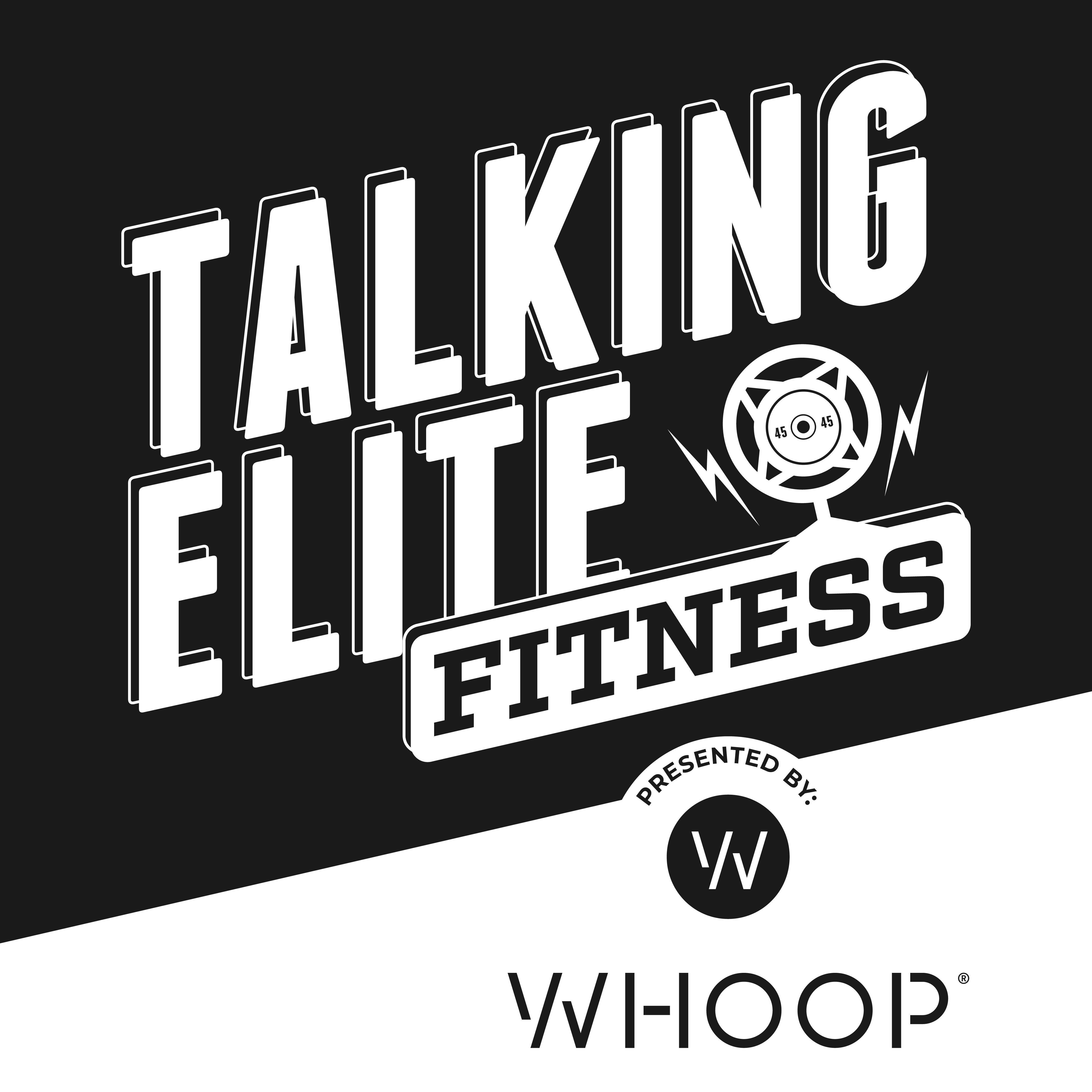 Talking Elite Fitness show art
