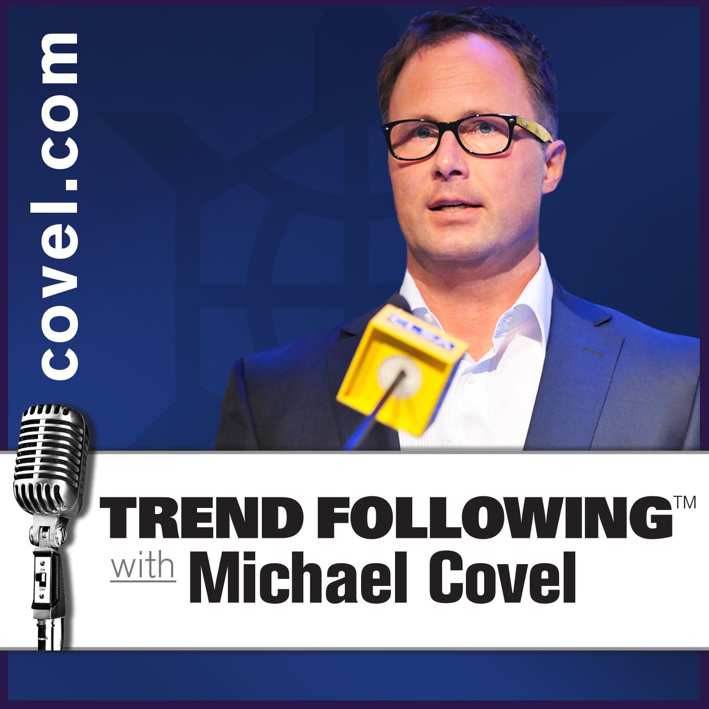 Michael Covel's Trend Following show art