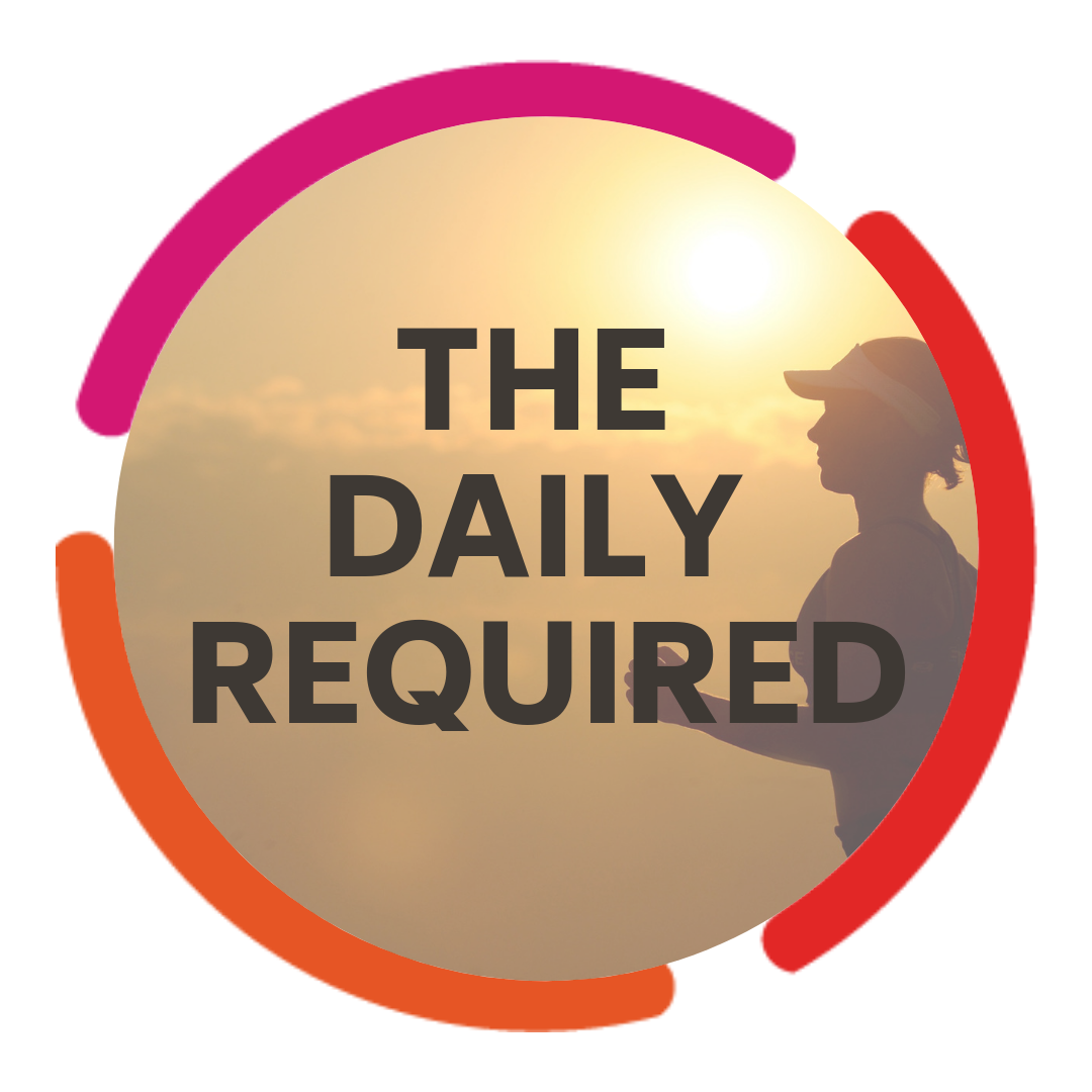 The Daily Required show art