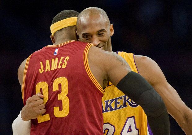 Even Kobe Likes Hugs