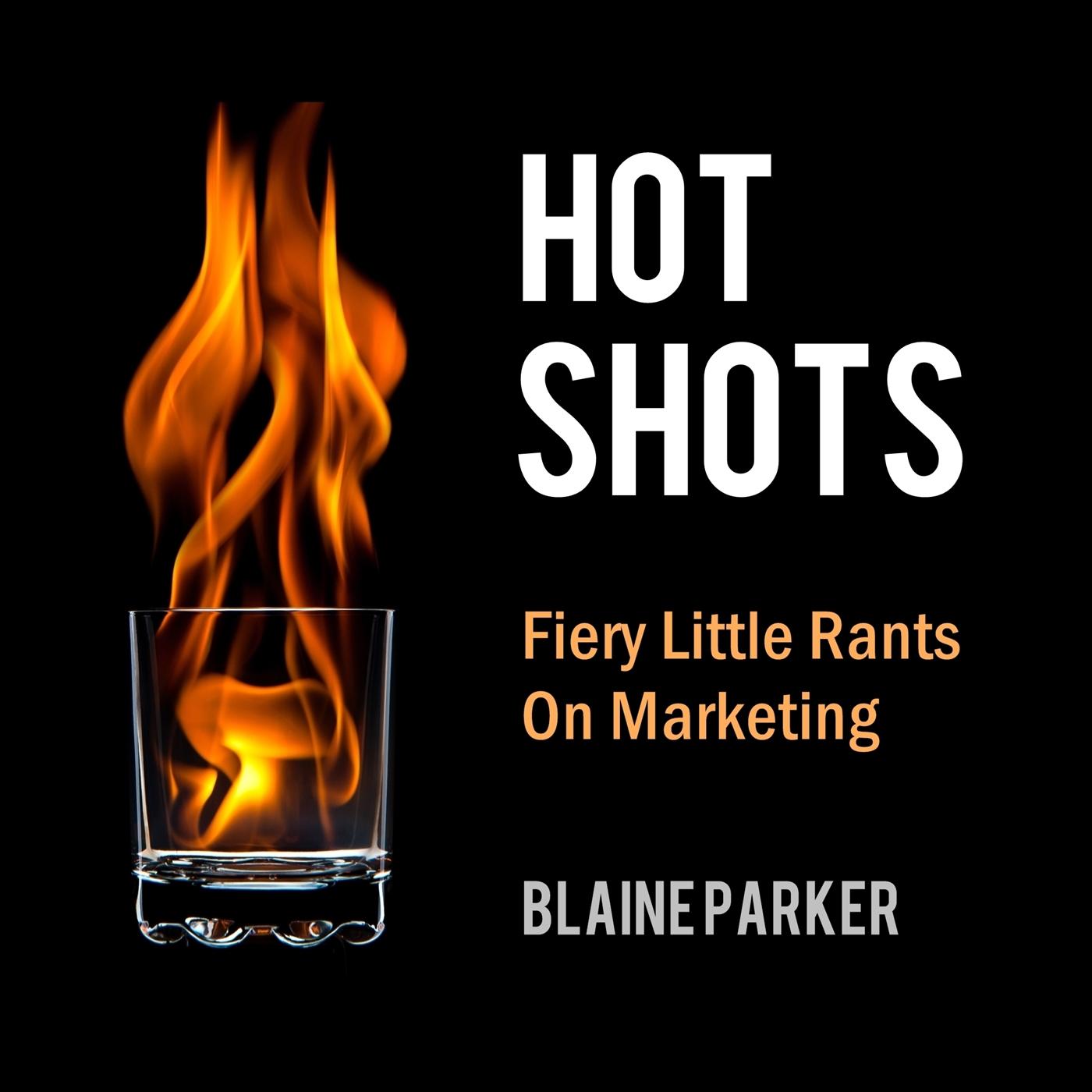 Hot Shots - Firey Little Rants On Marketing show art