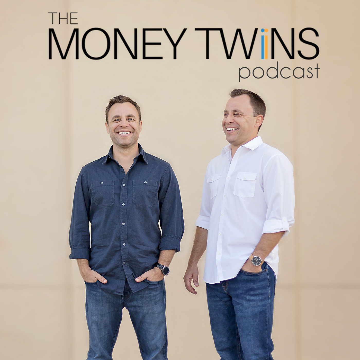 The Money Twins Podcast show art