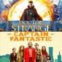 Artwork for Week 43: (Doctor Strange (2016), Captain Fantastic (2016))