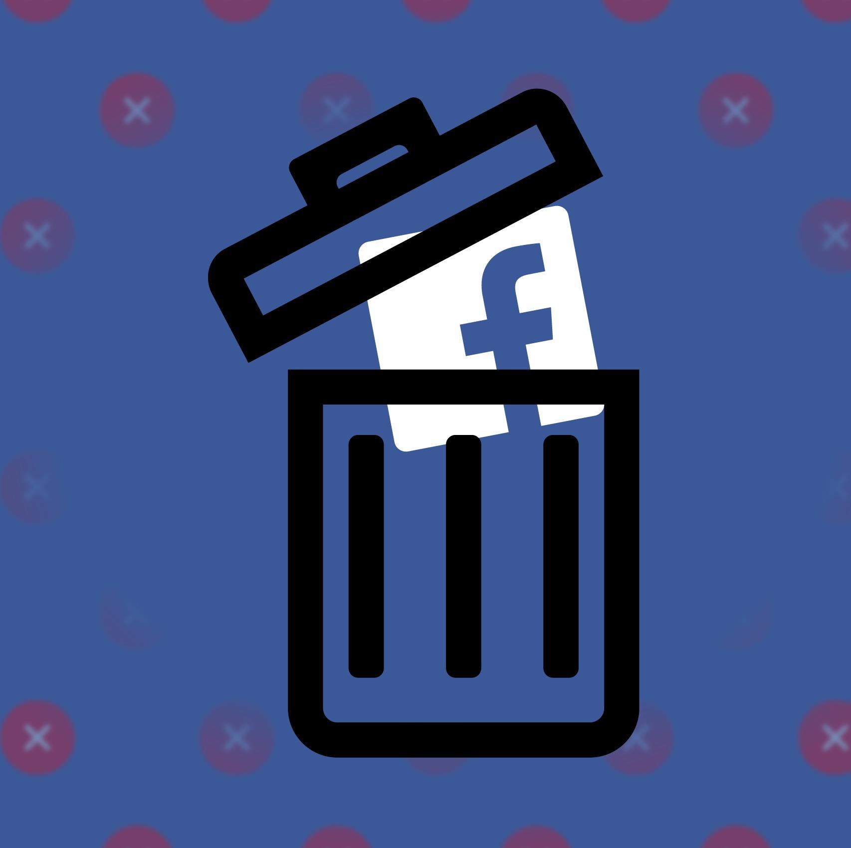 Hashtag Delete Facebook