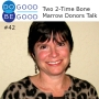 Artwork for #42 Two 2-Time Bone Marrow Donors Talk