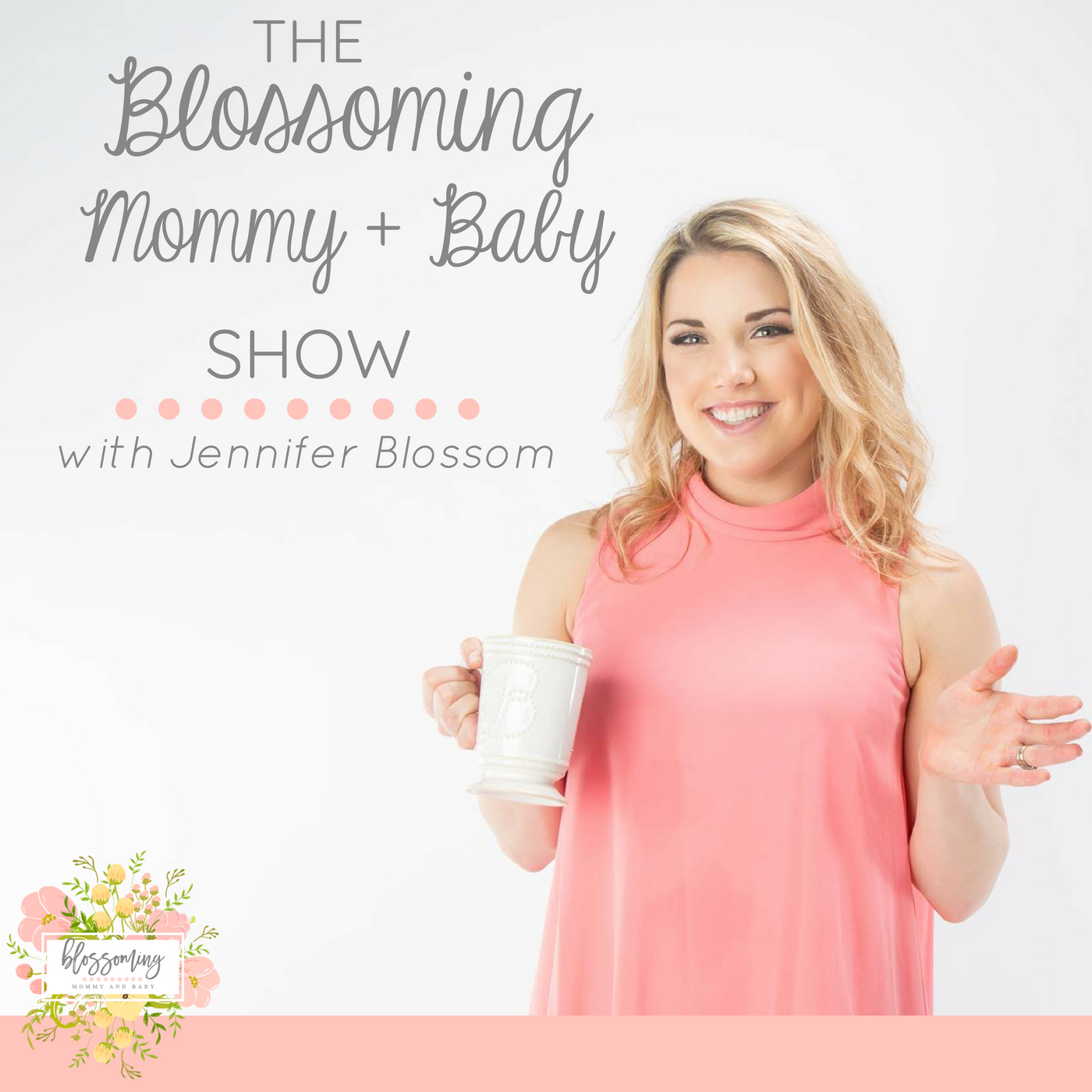 The Blossoming Mommy And Baby Show show art