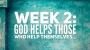 """Artwork for Half Truths Week #2: """"God Helps those who help themselves"""""""