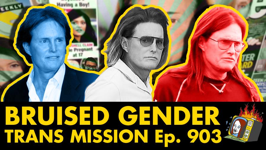 Trans Mission w/ David Rey Martinez - Ep. 903 (BRUCE JENNER, CAITLYN JENNER, TRANSGENDER, SUICIDE,  DEPRESSION)