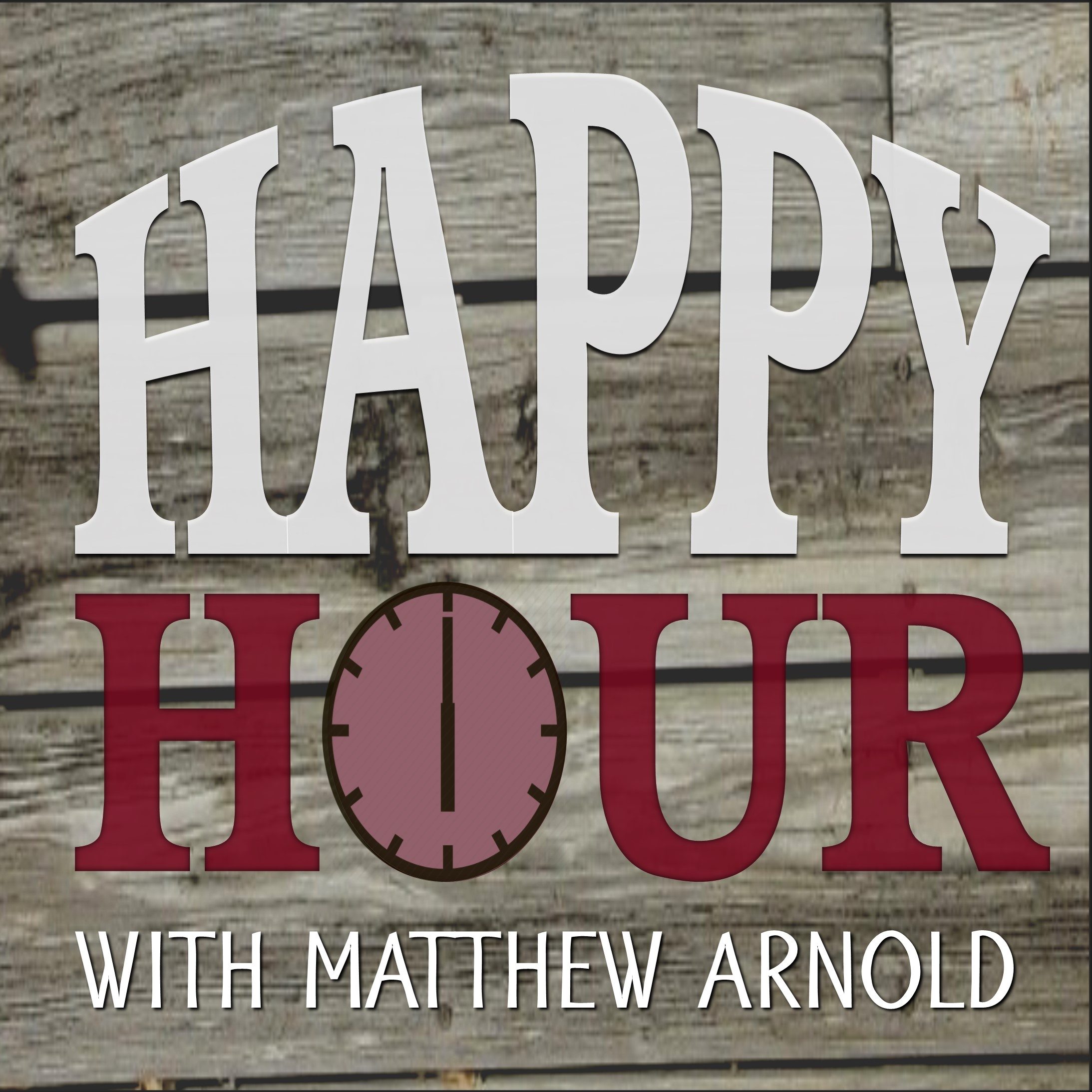 Happy Hour with Matthew Arnold show art