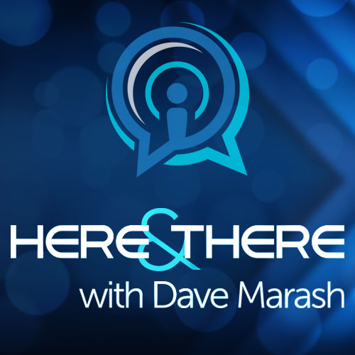 Here And There with Dave Marash show art