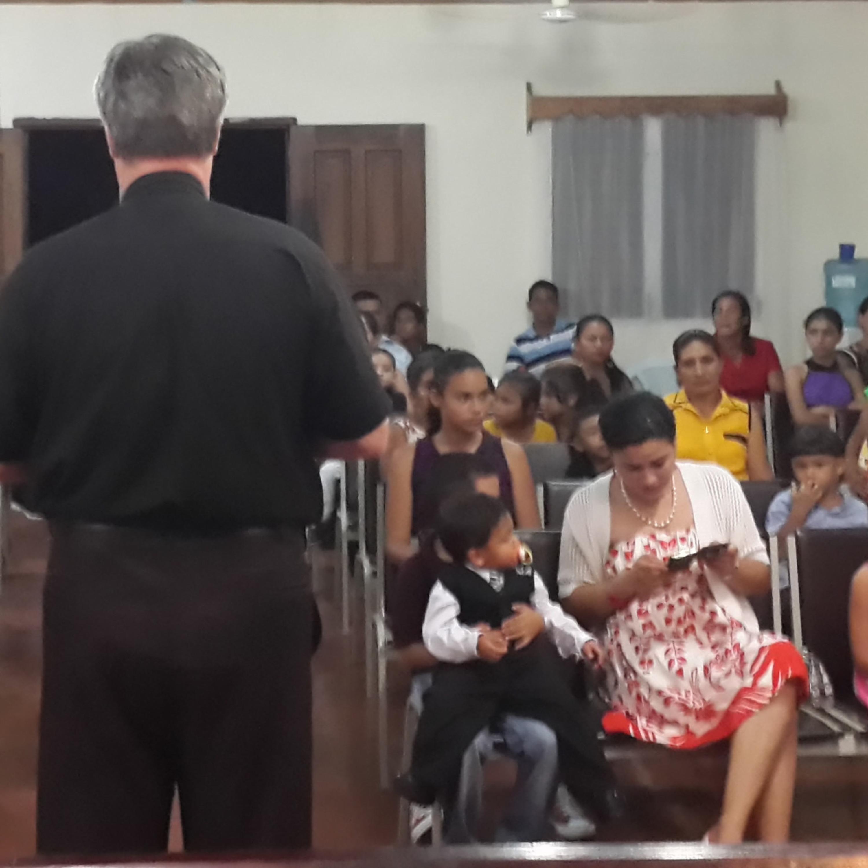 Reasons To Be In Communion  Sermon 4 October 2015 Zion Methodist Church, La Ceiba