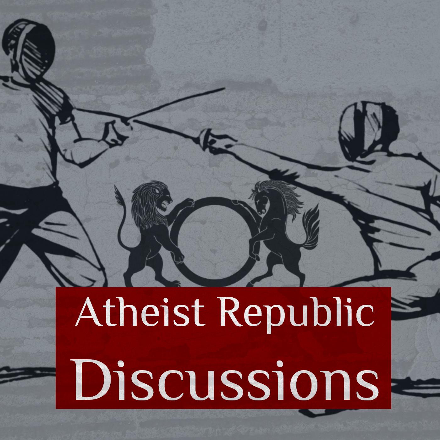 Atheist Republic Discussions show art