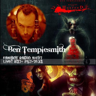 Fanboy Radio #497 - Ben Templesmith LIVE