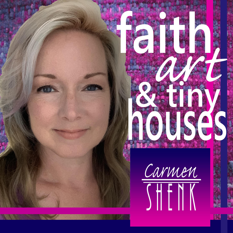 Faith Art & Tiny Houses show art