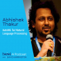 Artwork for AutoML for Natural Language Processing with Abhishek Thakur - #475