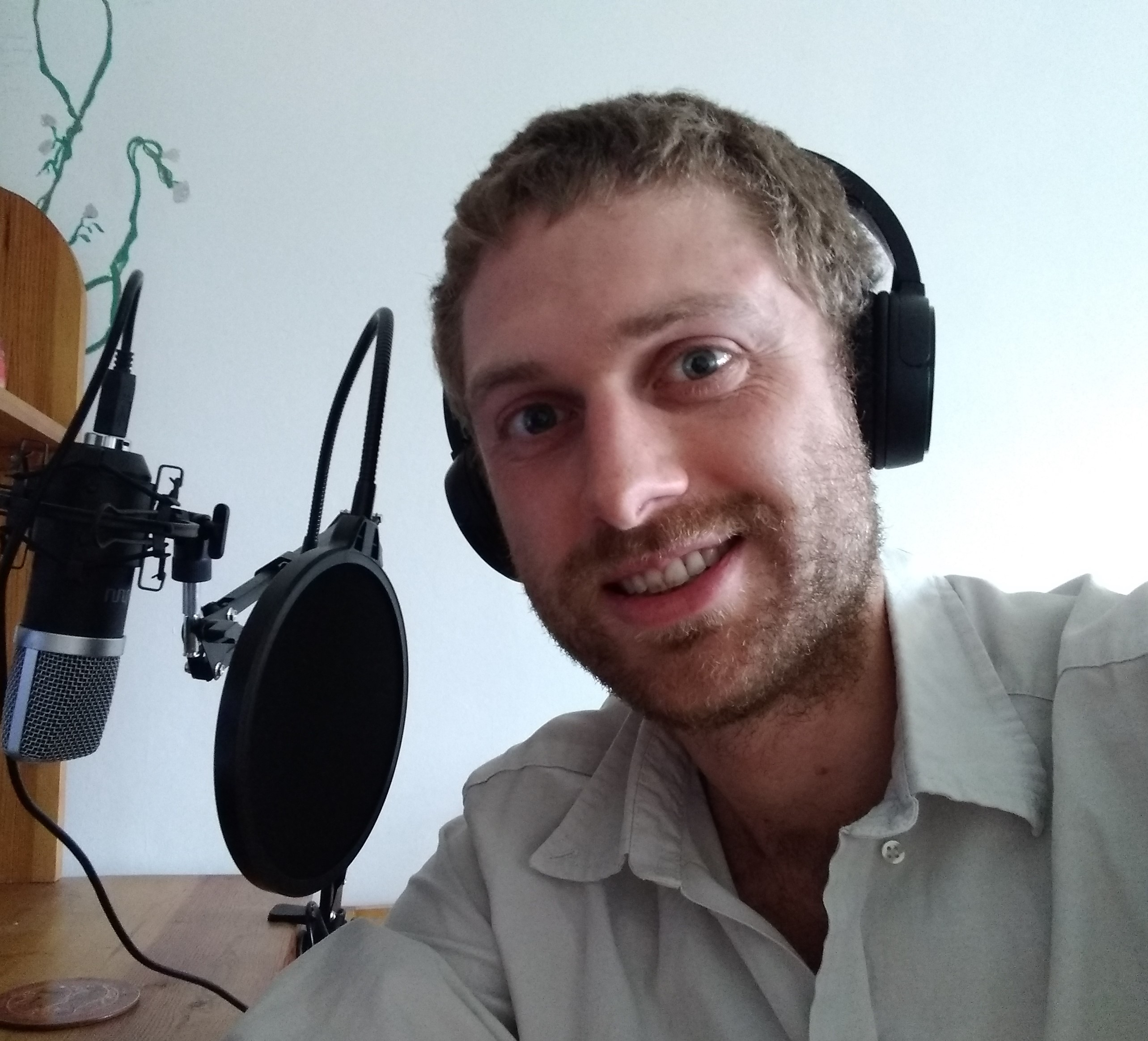 Stephen Devincenzi in Interview for My Fluent Podcast