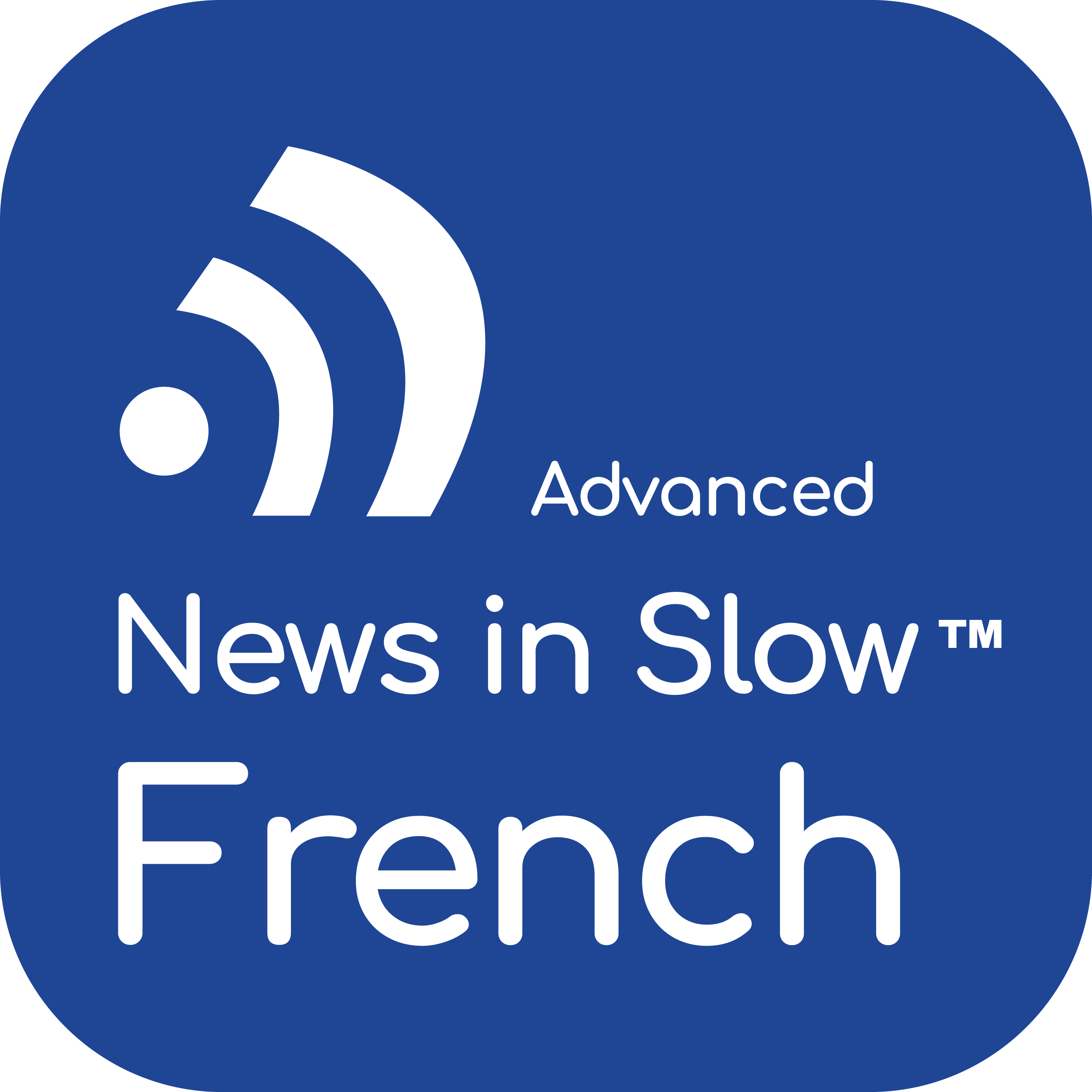 Advanced French 218 - World News, Opinion and Analysis in French
