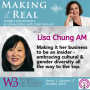 Artwork for Making it 'her business' to be an insider with Lisa Chung AM