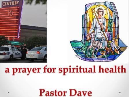 a prayer for spiritual health