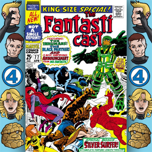 Episode 77: Fantastic Four Annual #5 - Divide And Conquer