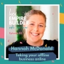 Artwork for Taking your offline business online with Hannah McDonald
