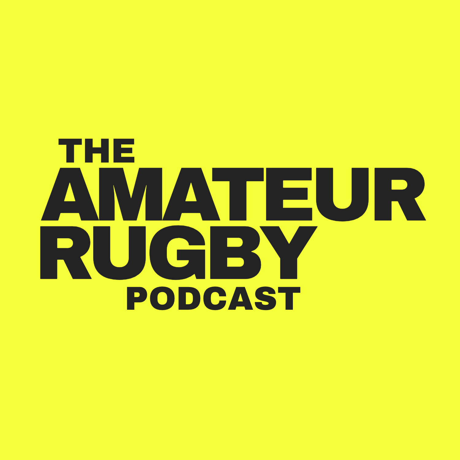Amateur Rugby Podcast show art