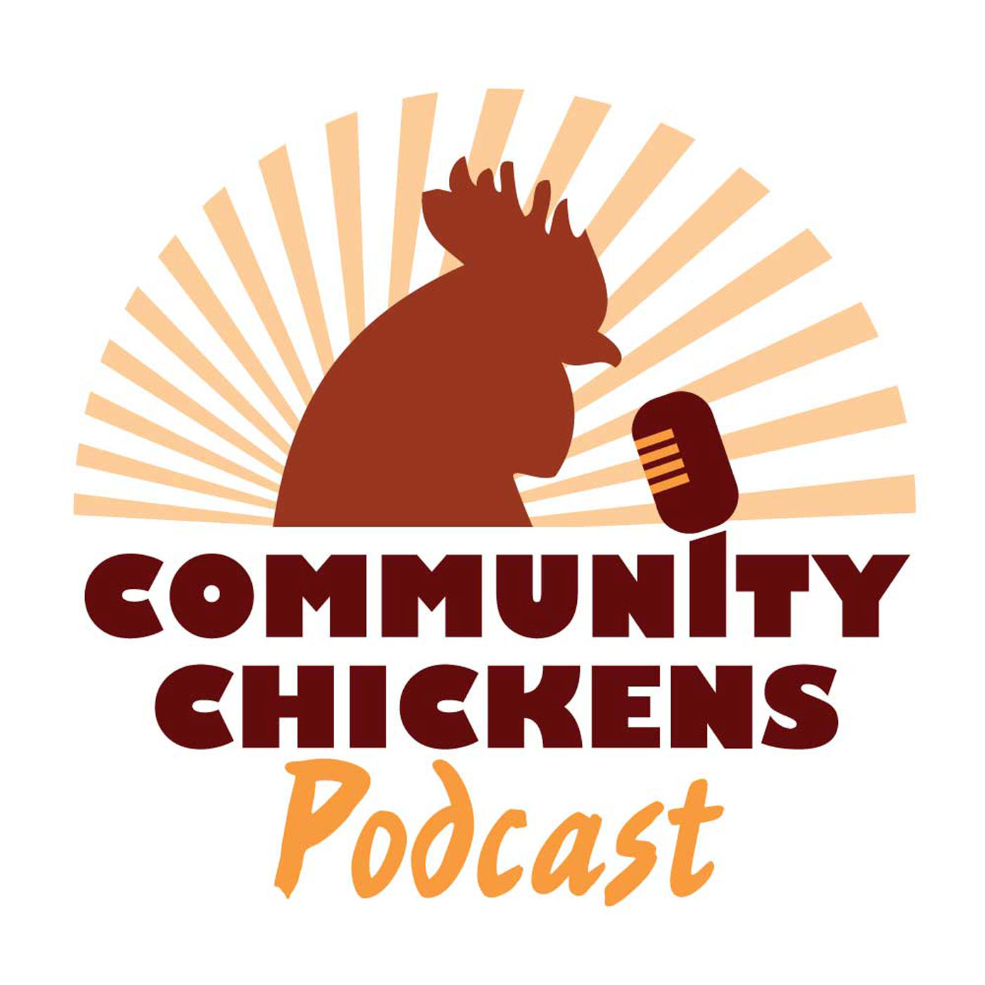 Community Chickens show art