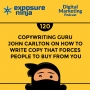 Artwork for #120: Copywriting Guru John Carlton on How to Write Copy That Forces People to Buy from You