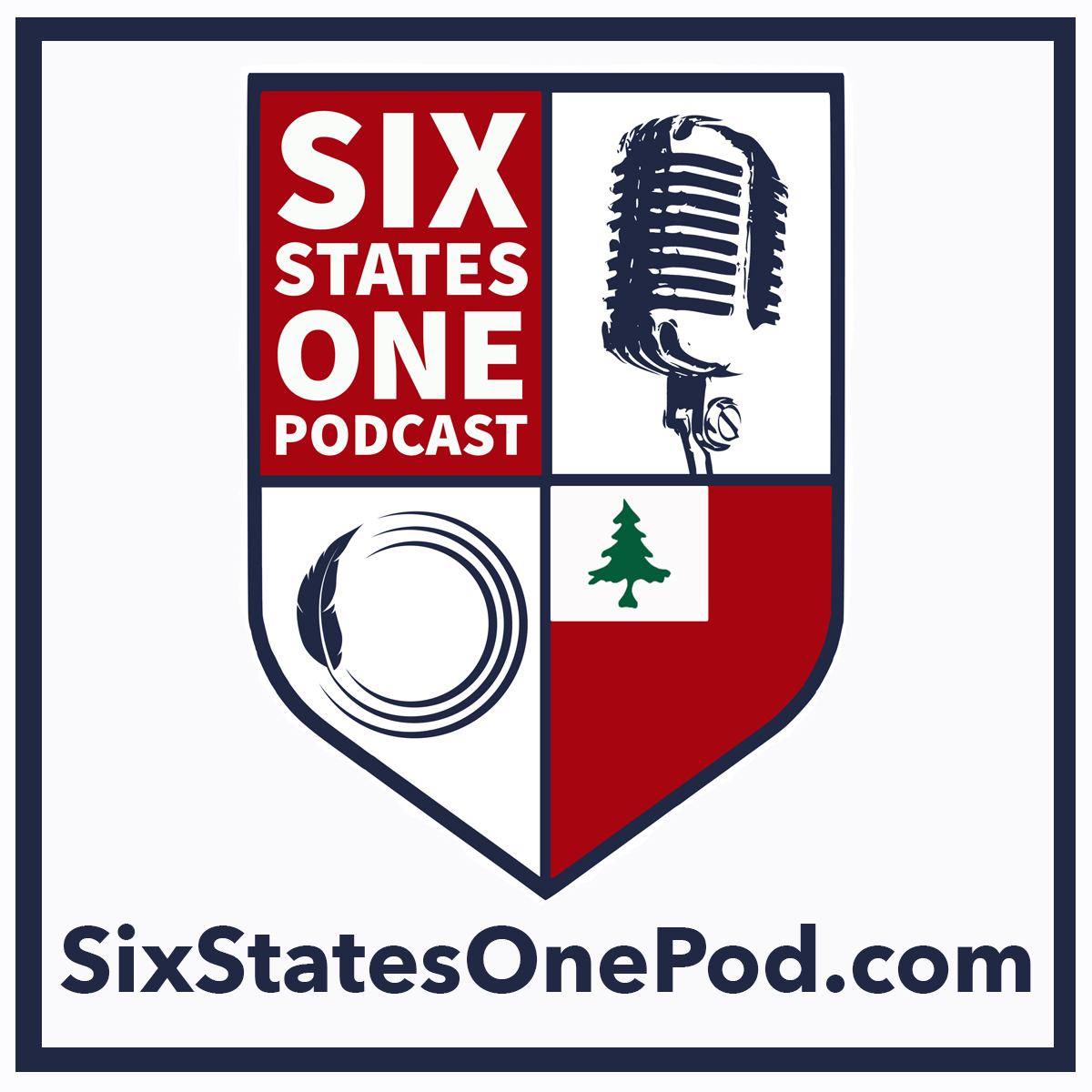 Six States One Podcast - A Show About The New England Revolution show art