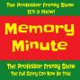 Artwork for The Professor Frenzy Show Memory Minute