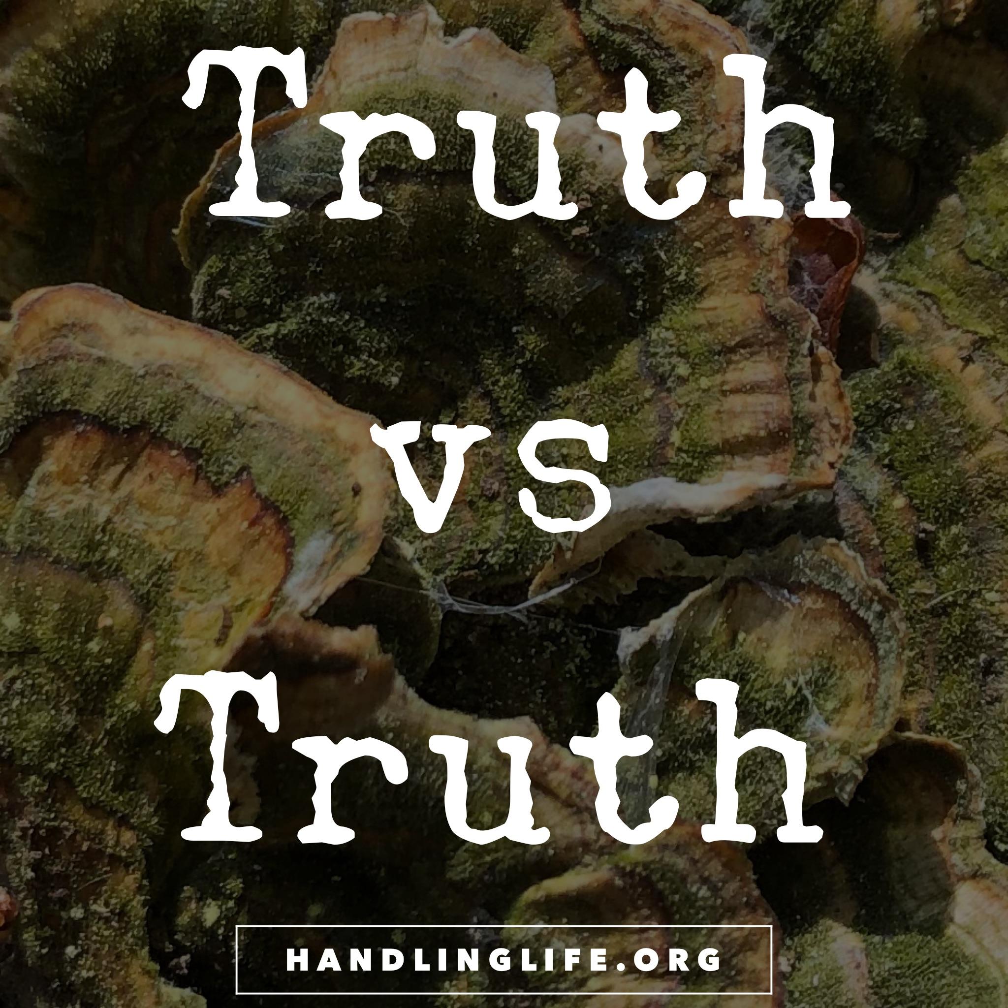 Artwork for Truth vs Truth