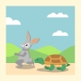 Artwork for Encourage tenacity with Aesop's Fable - Storytelling Podcast for Kids -The Tortoise and the Hare: E40