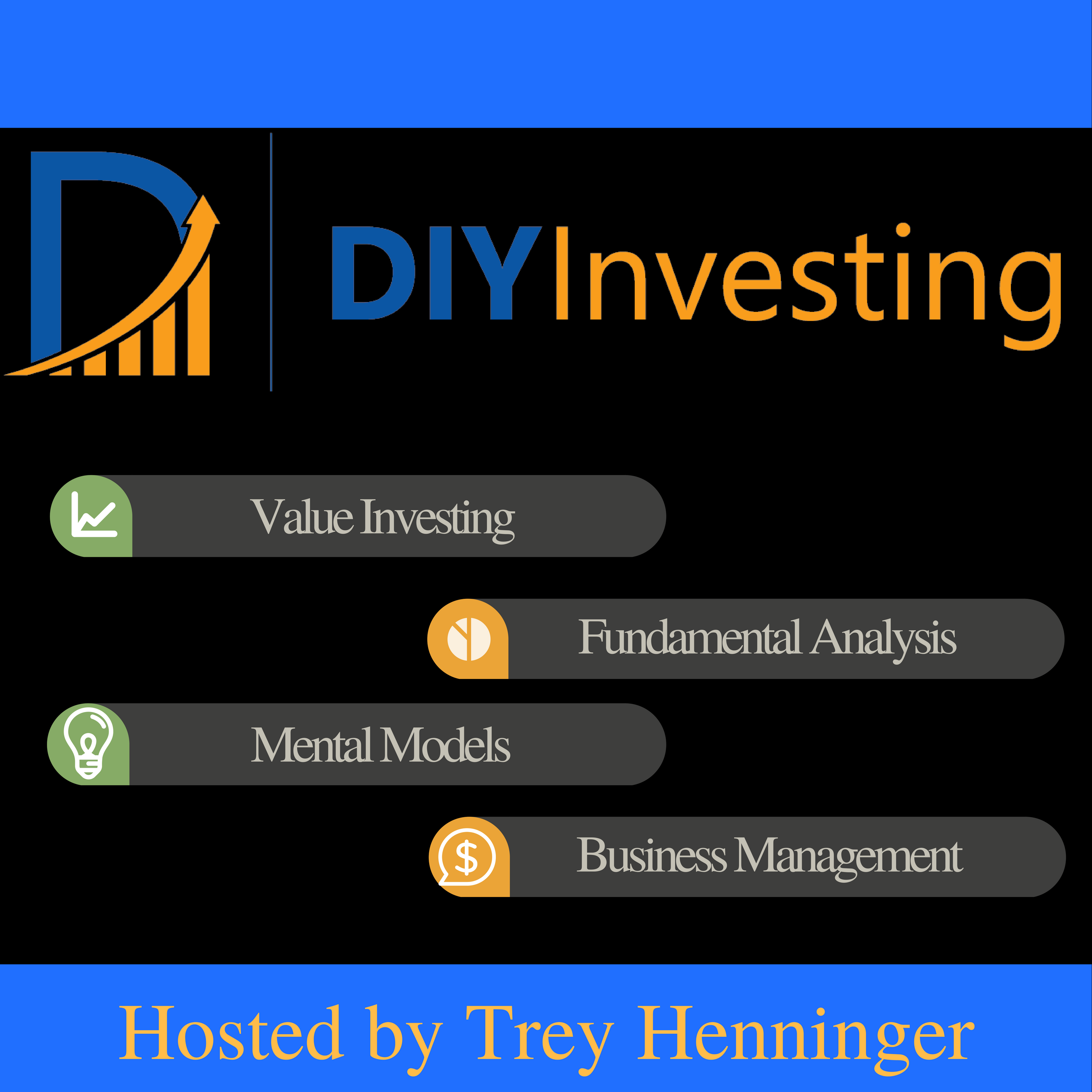 The DIY Investing Podcast: Value Investing | Fundamental Analysis | Mental Models | Business Management show art