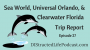 Artwork for Sea World, Universal Orlando, and Clearwater Florida Trip Report DLP27