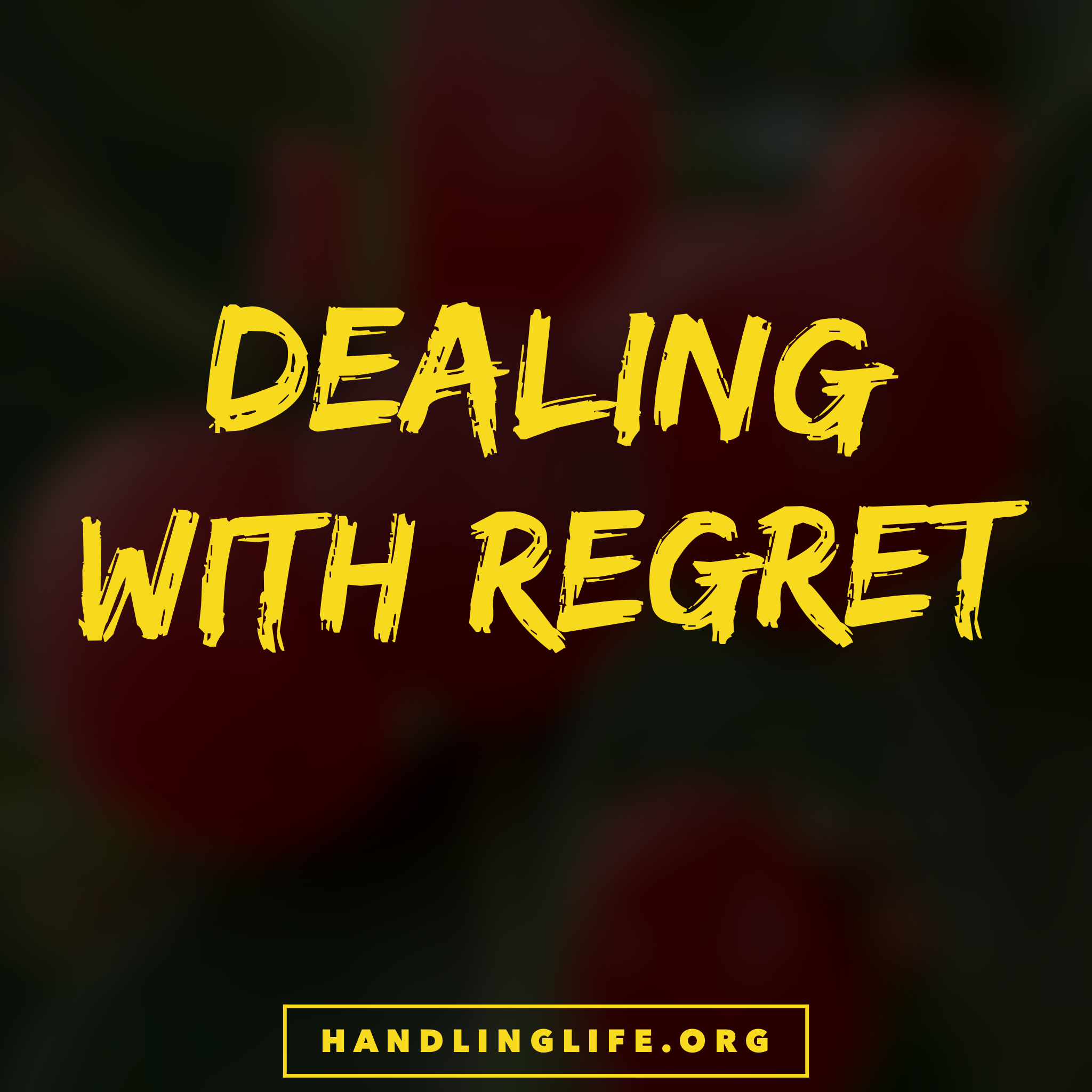 Artwork for Dealing with Regret