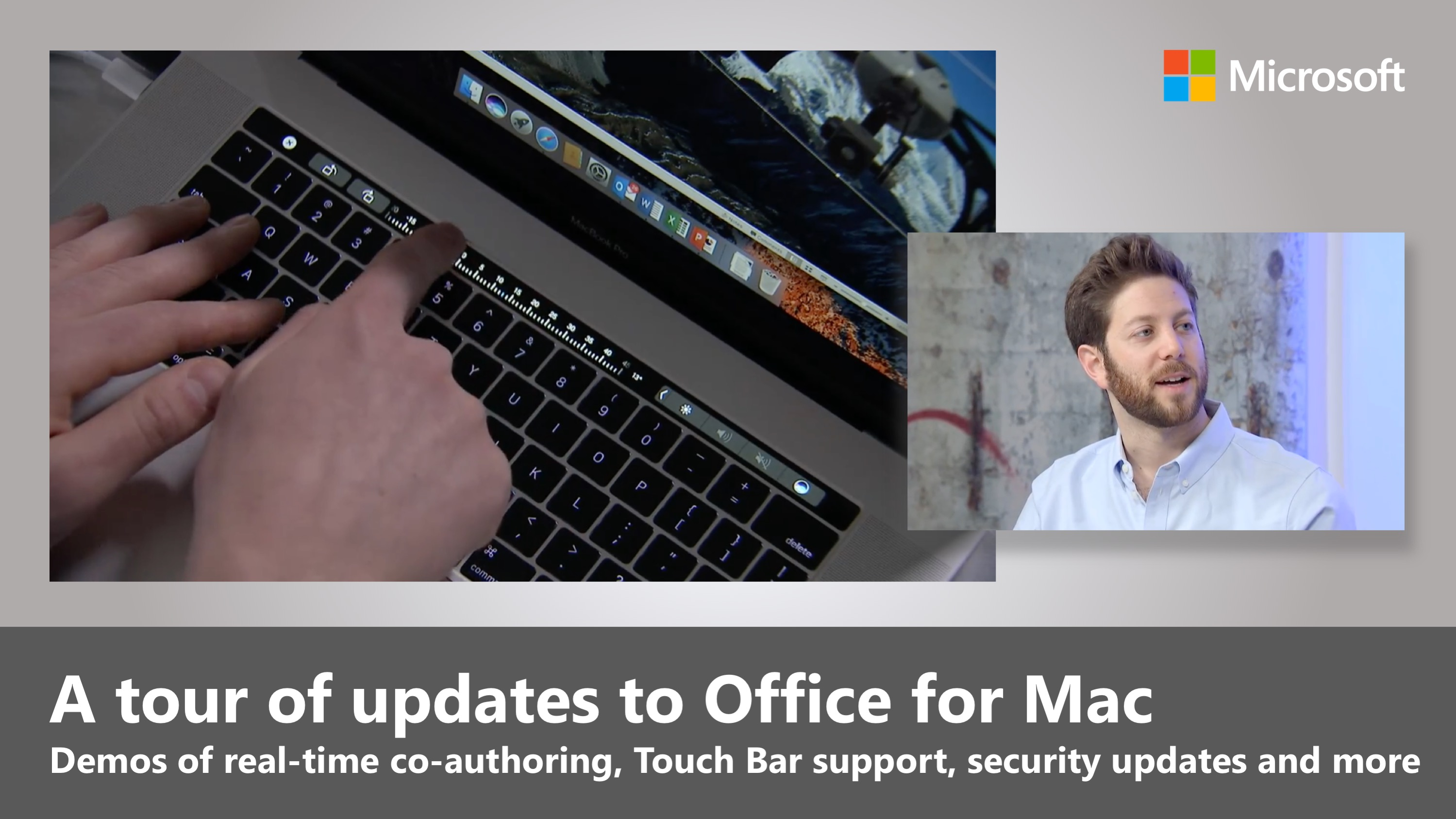 Artwork for A tour of updates to Office for Mac